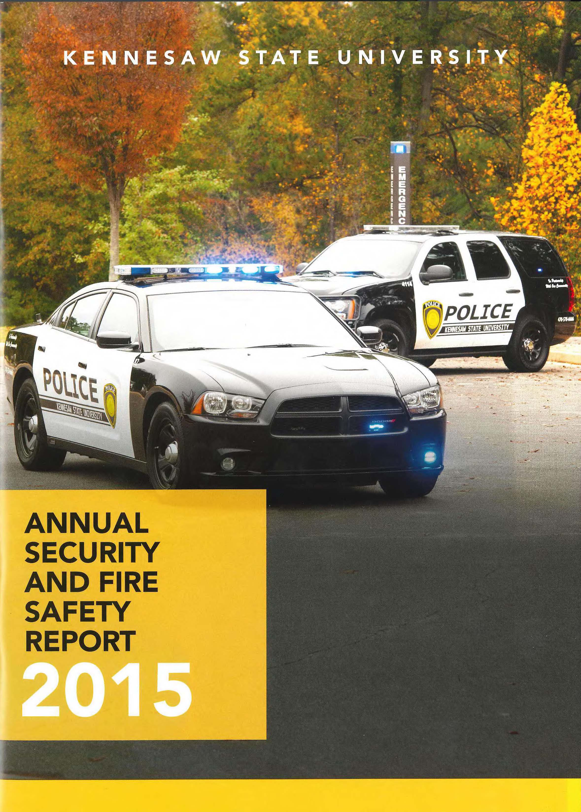 Annual Security and Fire Safety Report