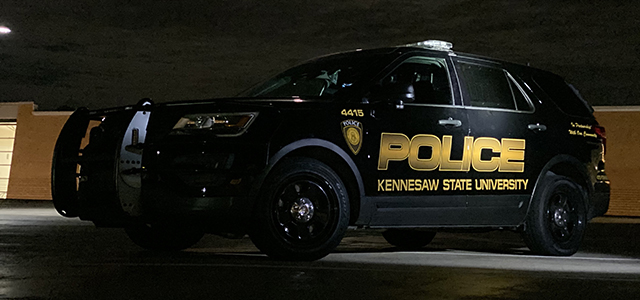 KSU Police vehicle